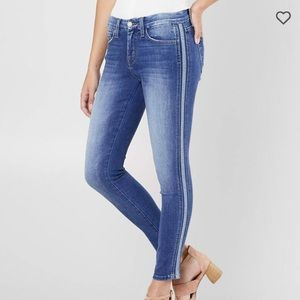 Cute Stripe Detail Flying Monkey Jeans